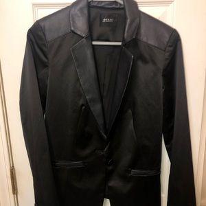 Guess Faux Leather Blazer
